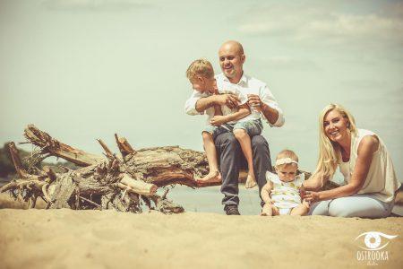 Sesja rodzinna - nad wisłą (6)